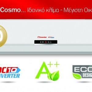 Inventor Cosmo 9.000 btu/h C2VI-09/C2VO-09